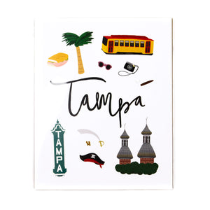 Tampa Art Print (multiple sizes)