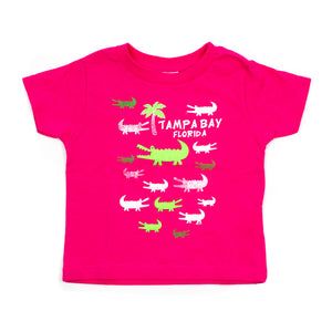 Gator Tee - Pink (Toddler)