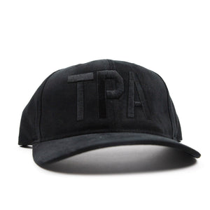 TPA Adjustable Hat - Black
