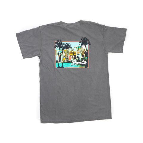 Tampa Mural T-Shirt - Grey