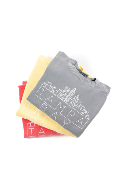 Tampa Skyline Sweatshirt - Butter