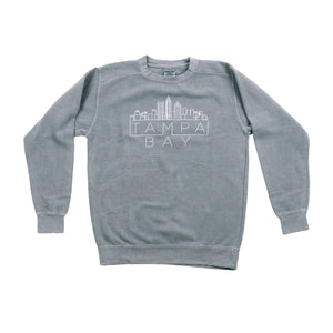 Tampa Skyline Sweatshirt - Grey