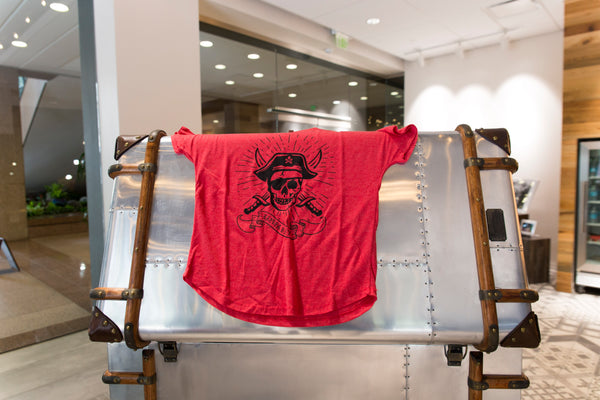 Ladies Pirate Tee - Red