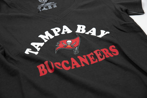 Tampa Bay Buccaneers V-Neck Tee - Womens