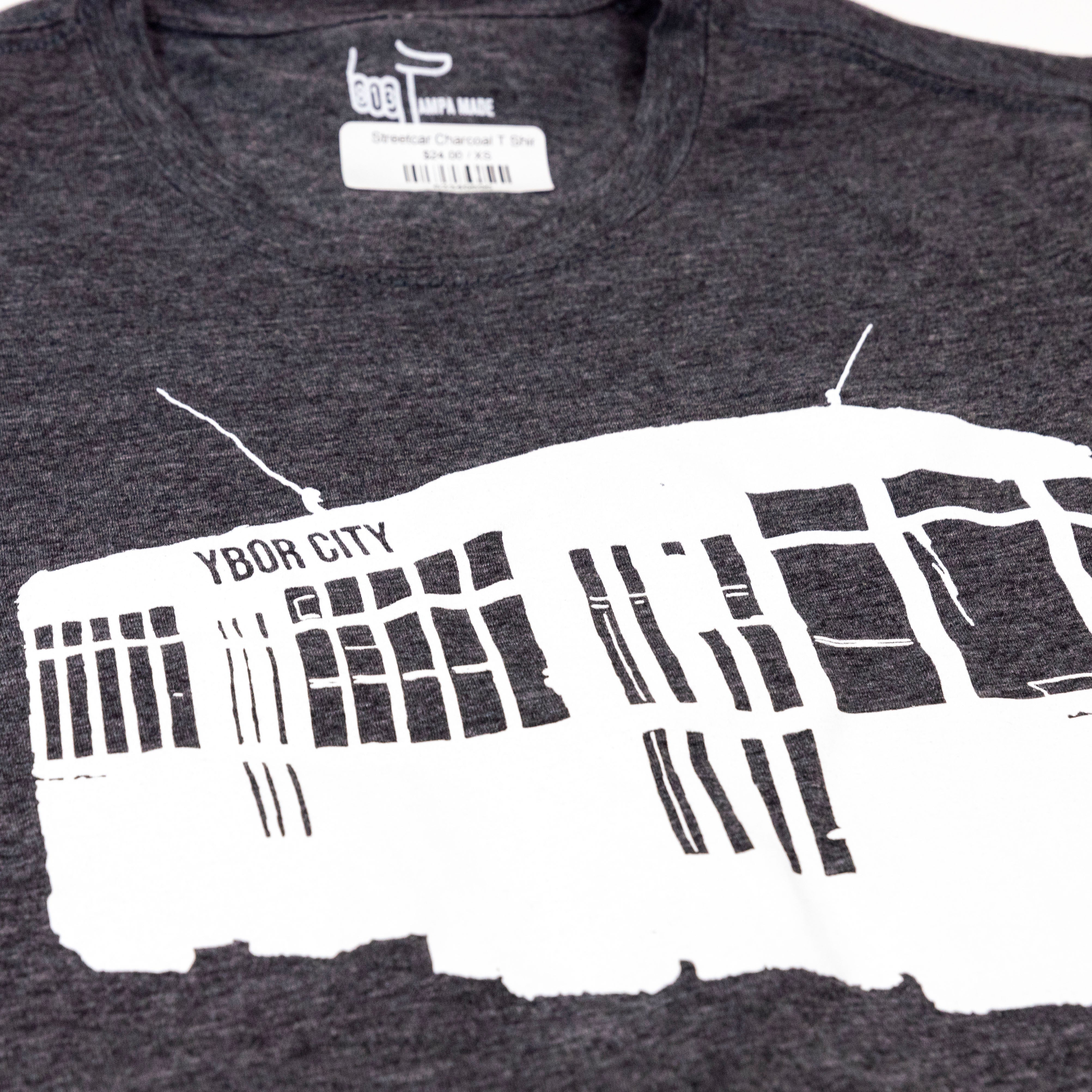 Streetcar Youth Charcoal T Shirt