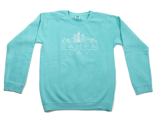 Tampa Skyline Sweatshirt - Mint