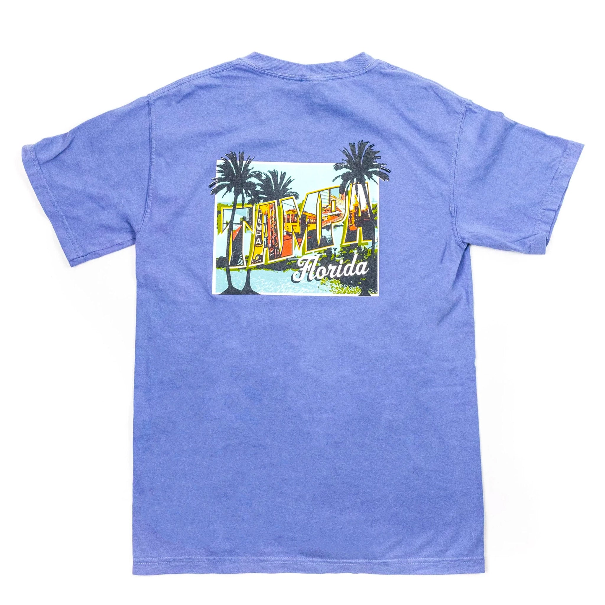 Mural T-Shirt - Denim