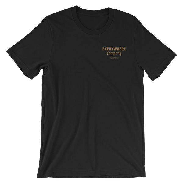 Freedom is the Destination Tee Black