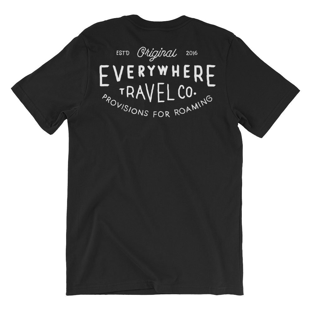 Everywhere Stamp Tee Black