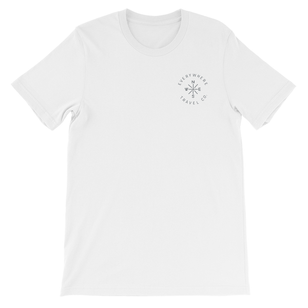 Everywhere Compass Tee White