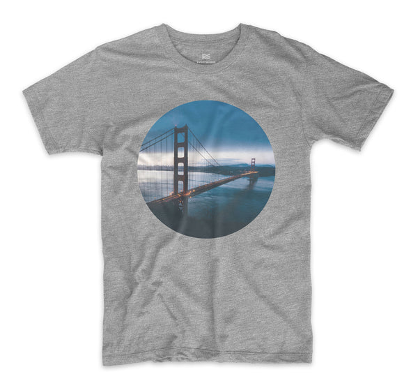 Golden Gate San Francisco Dusk T-Shirt