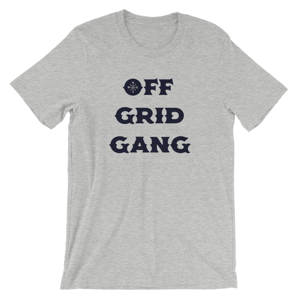 Off Grid Gang Tee Heather Grey