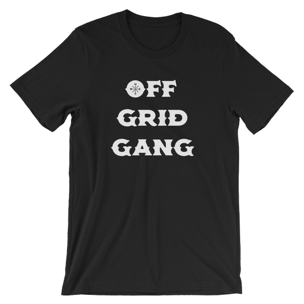 Off Grid Gang Tee Black