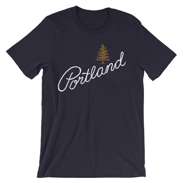 Oregon Explored Portland Pine T-Shirt