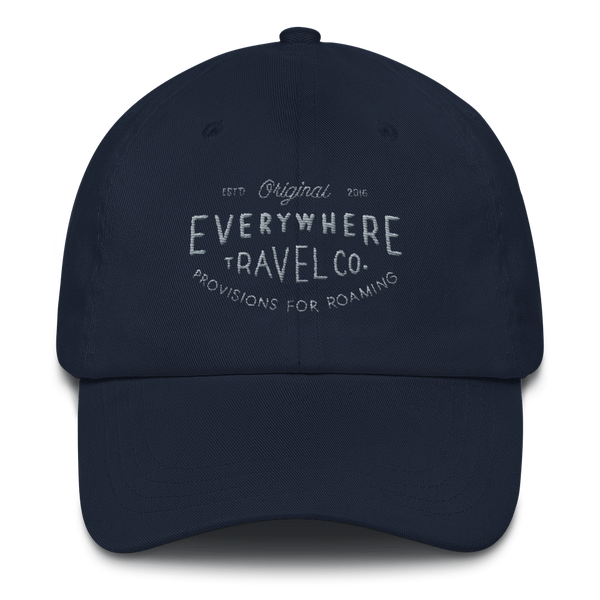 Everywhere Stamp Dad Hat Navy