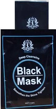 The True Styles Deep Cleansing Black Mask 10 ml