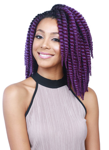 Bobbi Boss Bomba Skinny Twist 3PC Synthetic Braiding Hair