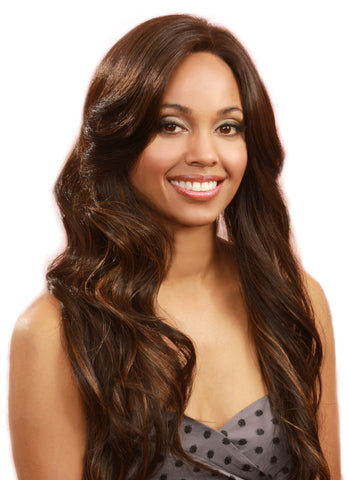 Bobbi Boss MLF 21 Aqua Synthetic Lace Front Wig