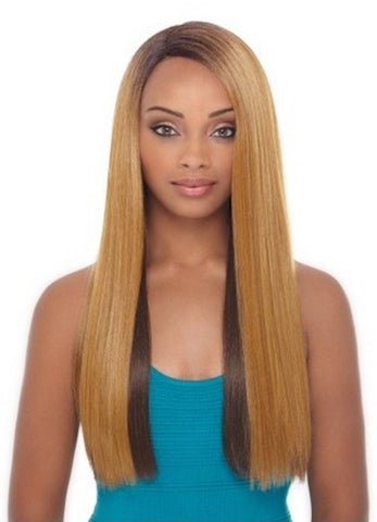 Janet Collection Bisa Super Flow Deep Part Lace Wig