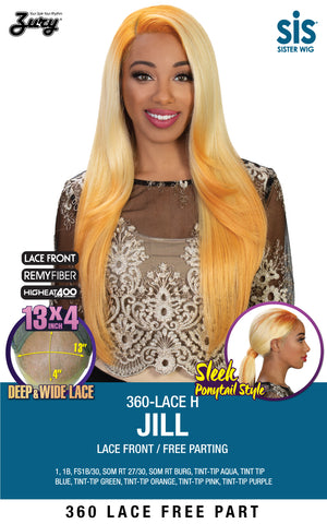 Zury SIS 360 Lace H Jill Lace Front Free Parting Wig
