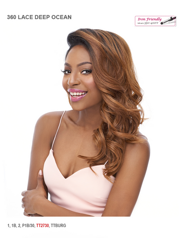It's A Wig Deep Ocean 360 Lace All Around Synthetic Wig