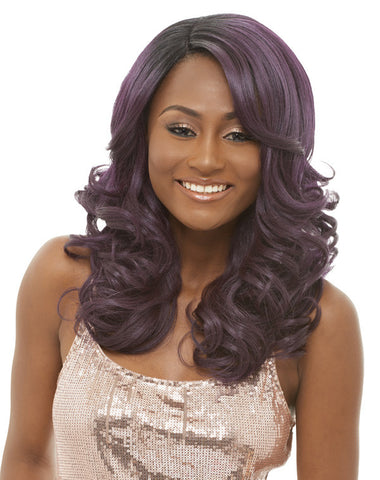 Janet Collection Chille Super Flow Deep Part Lace Wig