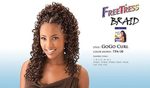 Freetress Gogo Curl Synthetic Braiding Hair