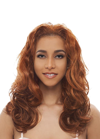Janet Collection Aida New Easy & Quick Synthetic Half Wig