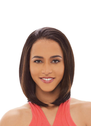 Janet Collection Allie New Easy & Quick Synthetic Half Wig