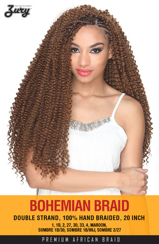 Zury Bohemian Braid Synthetic Braiding Hair