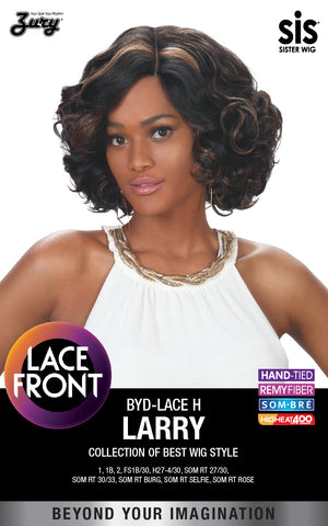 Zury BYD Lace H Larry Synthetic Lace Front Wig