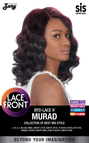Zury BYD Lace H Murad Synthetic Lace Front Wig