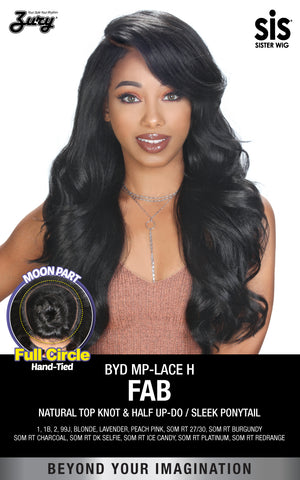 Zury BYD MP-Lace H Fab Synthetic Lace Front Wig