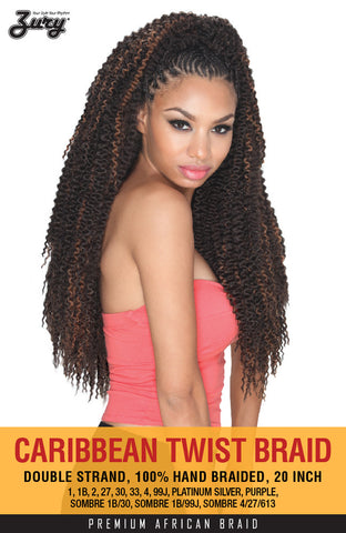 Zury Caribbean Twist Braid color 27 Synthetic Braiding Hair
