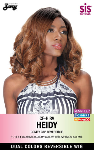Zury SIS CF-H RV Heidy Synthetic Wig Reversible Comfy Cap