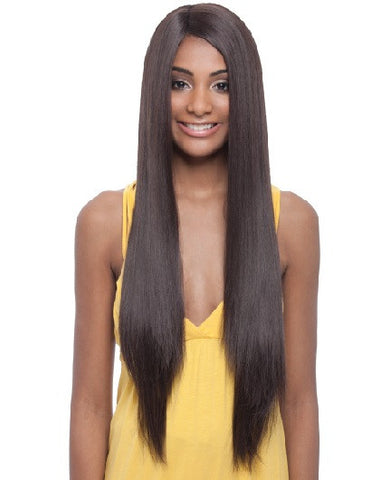 Janet Collection Davisa Super Flow Deep Part Lace Wig