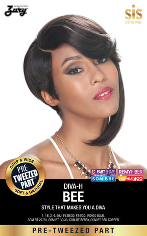 Zury Diva Bee Pre-tweezed Part Synthetic Wig Diva-H