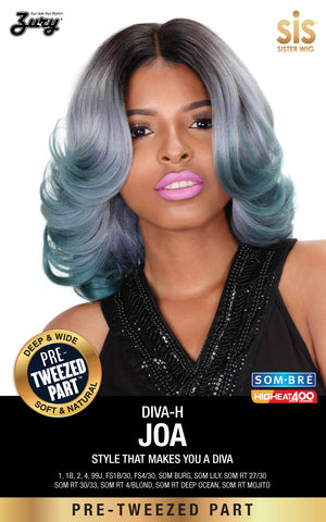 Zury Diva Joa Pre-tweezed Part Synthetic Lace Wig