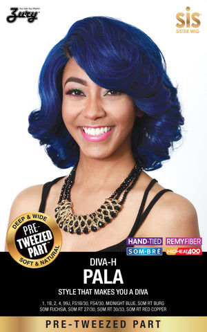 Zury Diva Pala Pre-tweezed Part Synthetic Wig