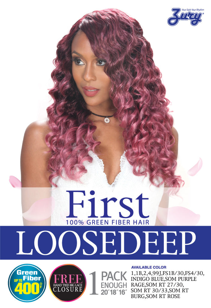 Zury First Loose Deep Weave Ufuzzy