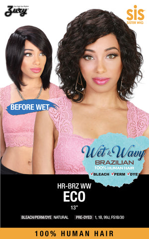 SIS HR-BRZ WW ECO Human Hair Wig