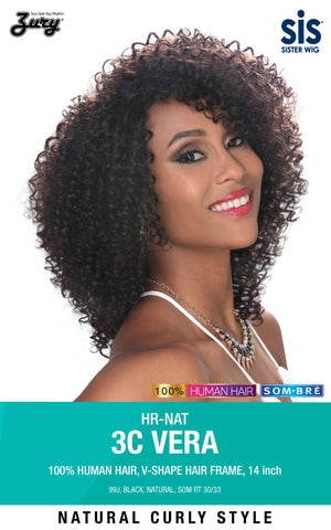 Zury Sis HR-NAT 3C Vera Naturali Star 100% Human Hair Wig