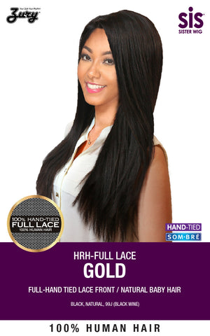 Zury HRH-Full Lace Gold Human Hair Wig