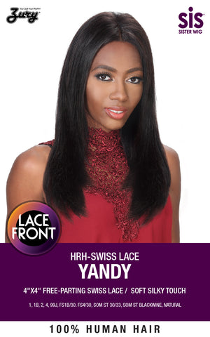 Zury HRH-Swiss Lace Yandy Human Hair Free-Parting Swiss Lace