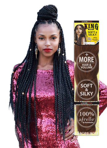 Bobbi Boss Soft & Silky Synthetic King Braid