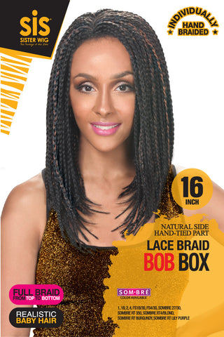 Zury SIS Bob Box Braid Lace Front Wig
