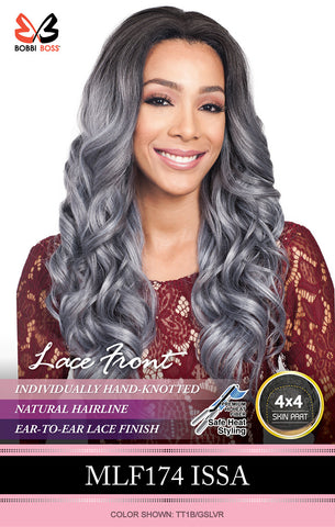 Bobbi Boss MLF 174 Issa Synthetic Lace Front Wig