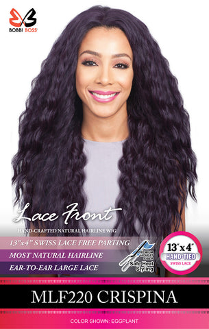 Bobbi Boss MLF 220 Crispina Synthetic Lace Front Wig