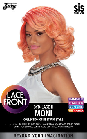 Zury BYD-Lace H Moni Synthetic Lace Front Wig