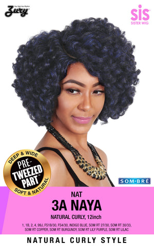 Zury NAT 3A Naya Naturali Star Synthetic Wig Pre-tweezed Part